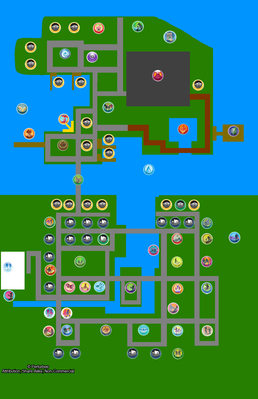 Map of town (DIY update) without names
