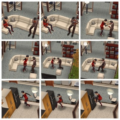 Neglected Sims in Another Simtown