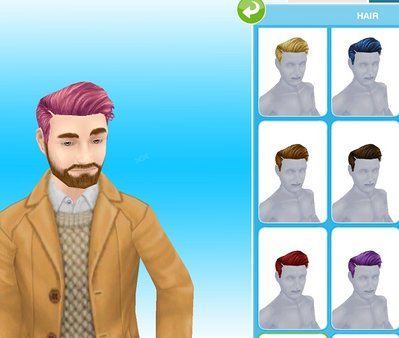 Hairstyle 1 - Male